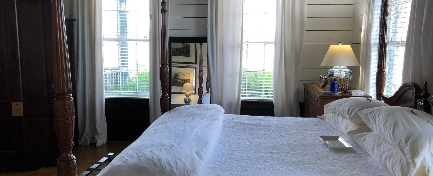 Accommodations in Brenham, TX, Farmhouse Bedroom