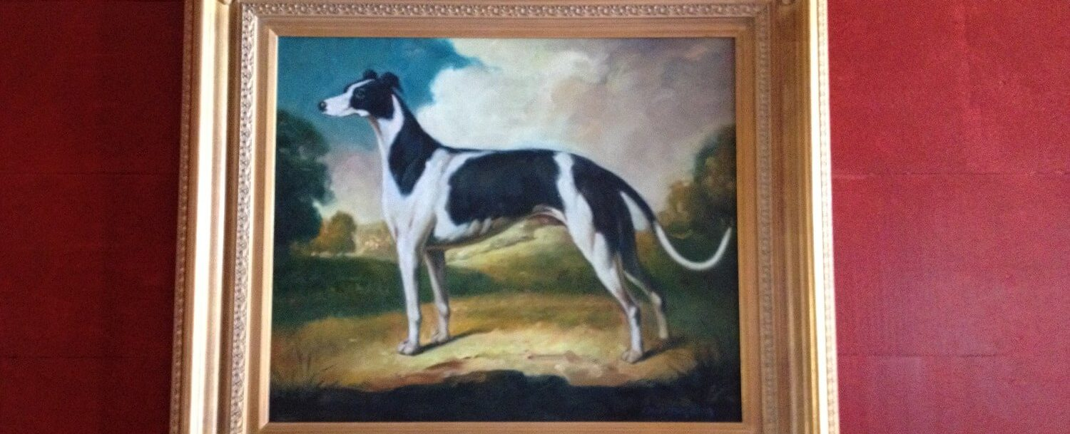 hall dog painting